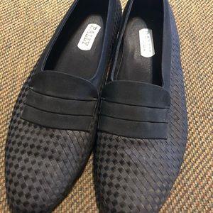 Bally Men's Black Satin Loafers